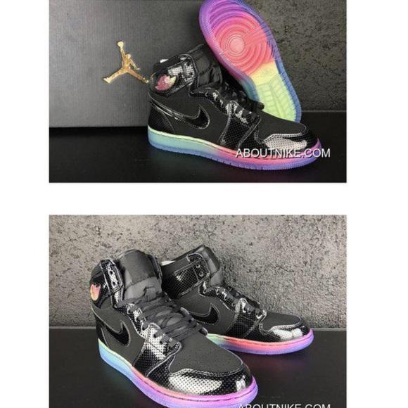 Nike Airforce Rainbow Sole